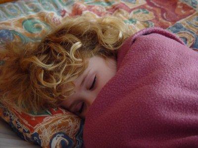 AnneRose, sleeping