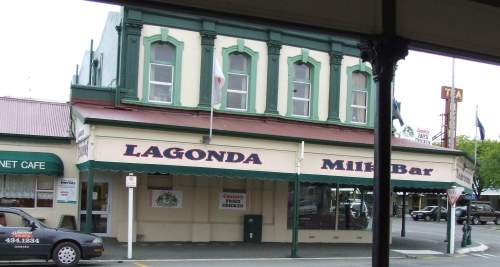 Lagonda Tearooms