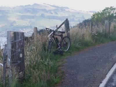 bike parked
