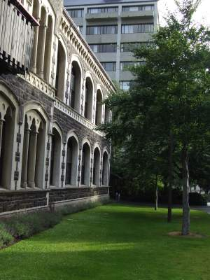 stone building at the university of Otago