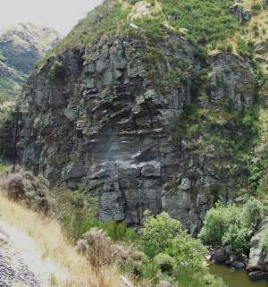 rocks in the gorge