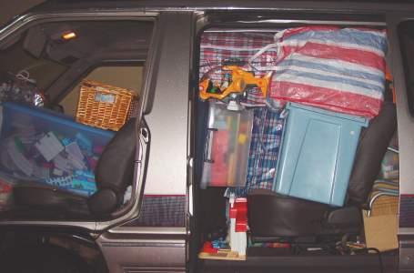 van from side